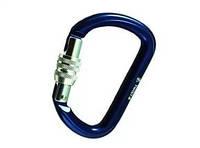 Карабін FA TWIST B алюміній, з муфтою, light blue, Розривні навантаження: пряме 26кН, поперечне 8кН