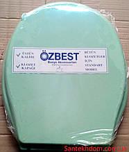 "Кришка пластик ""Oz Best"" зелена ."