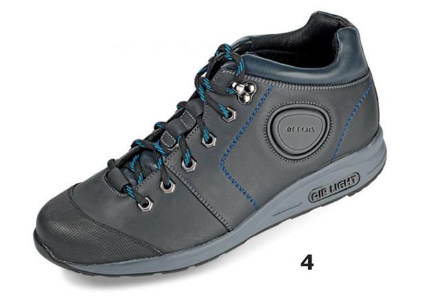 Мужские ботинки деми МИДА 12077 синие из натуральной кожи., фото 2