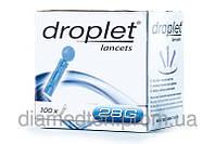 Ланцеты Droplet 28G №100 Дроплет 0,36 мм 100 шт