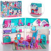 """Кукольный домик """"Doll House"""" с мебелью: звук/свет, мебель + фигурки"""