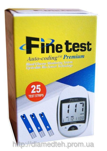 Тест-смужки Finetest premium №25 Файнтест 25шт