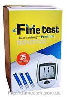Тест-полоски Finetest premium №25 Файнтест 25шт