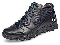 Мужские высокие кроссовки   МИДА 12173  из натуральной кожи.