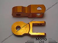 Удлинитель проставки задних амортизаторов (пара) желтый Mototech