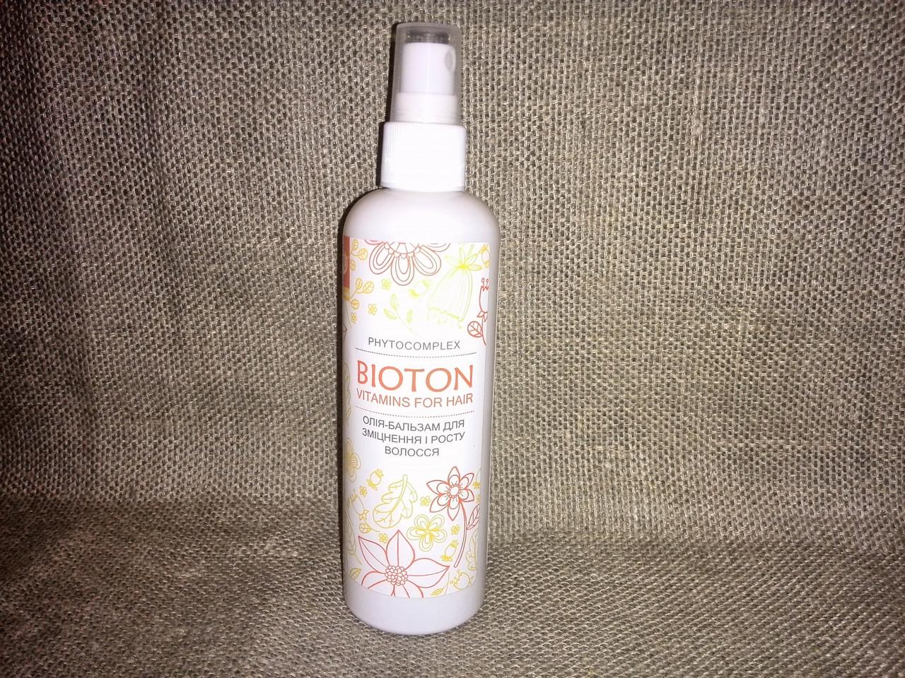 Биотон - аромабальзам для укрепления волос