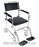 Кресло-каталка с санитарным оснащением «JBS» OSD-JBS367A