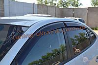 Дефлекторы окон (ветровики) COBRA-Tuning на HYUNDAI ELANTRA 4 Sedan 2006-10