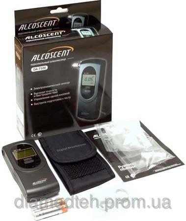 Спеціальний алкотестер AlcoScent (ALcoFind) DA 7100