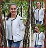 Куртка женская *Стёганка* ЦВЕТ БЕЛЫЙ, фото 2