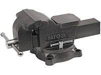 Yato YT-6503 тиски поворотные слесарные 150мм