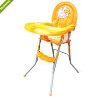 Детский стульчик для кормления GL 217-7, оранжевый
