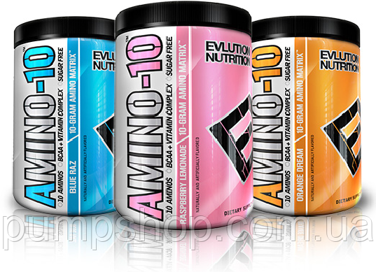 Амінокислоти Evlution Nutrition A-10 Amino Matrix -30 порцій, фото 2