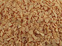 Шоколадные осколки, глазурь, персиковый цвет