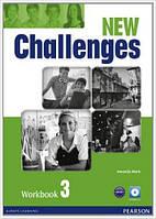 Рабочая тетрадь Challenges NEW 3 Workbook+CD-ROM