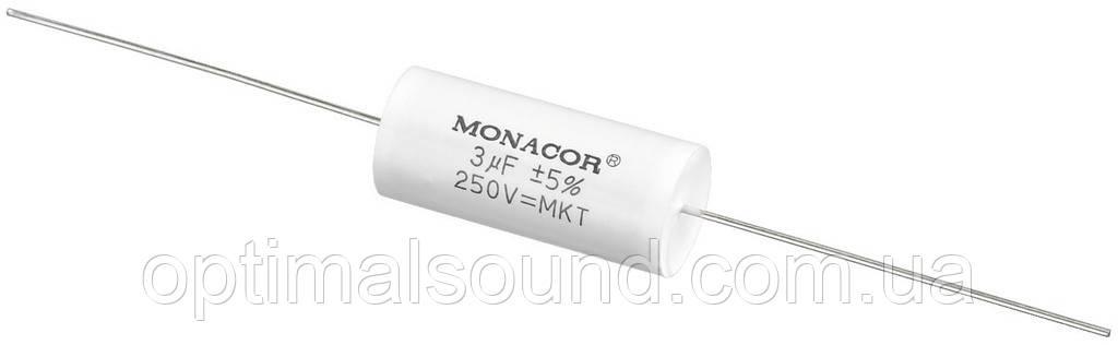 Monacor MKTA-30 | 3mF Пленочный полиэстровый конденсатор  - OptimalSound в Киеве