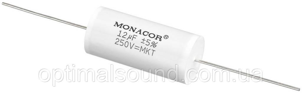 Monacor MKTA-120   12mF Пленочный полиэстровый конденсатор  - OptimalSound в Киеве