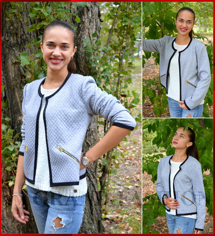 Куртка женская *Styogancka* серый, фото 1