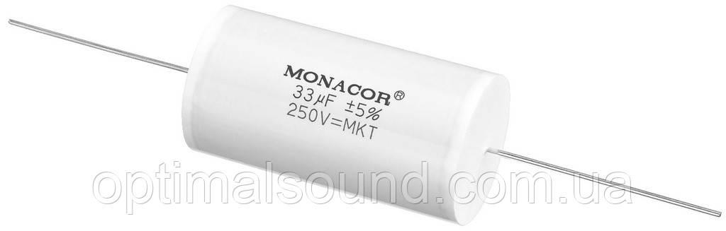 Monacor MKTA-330 | 33mF Пленочный полиэстровый конденсатор  - OptimalSound в Киеве