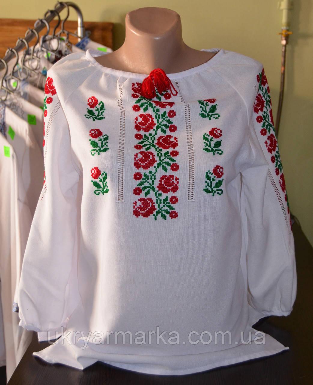 "Вишита блузка  ""Троянди"""