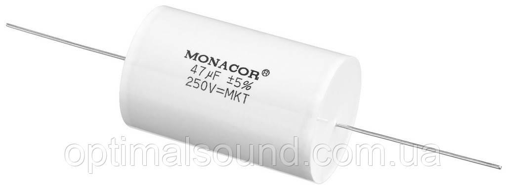 Monacor MKTA-470   47mF Пленочный полиэстровый конденсатор