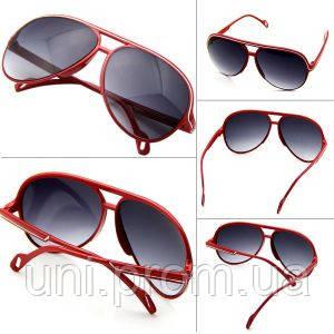 Очки стильные солнцезащитные Estone красные - UNI интернет супермаркет в  Днепре bd4670dc2e4c6