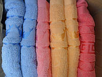 Махровые полотенца банные Венгрия 8 шт в наборе