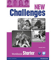 Рабочая тетрадь Challenges NEW Starter Workbook
