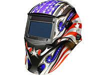 Сварочная маска хамелеон 9-13 DIN Krohn SUN7 American Flag