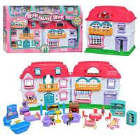 """Домик двухэтажный для кукол с мебелью """"Мой милый дом"""" KEENWAY 22002"""