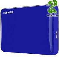 "HDD ext 2.5"" USB  500Gb Toshiba Canvio Connect II Blue (HDTC805EL3AA)"