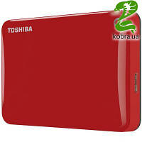 """HDD ext 2.5"""" USB  500Gb Toshiba Canvio Connect II Red (HDTC805ER3AA)"""