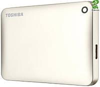 "HDD ext 2.5"" USB 2.0TB Toshiba Canvio Connect II Satin gold (HDTC820EC3CA)"
