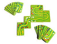 Настольная игра из картона Домино Лесная тропинка 154-01 УмБум