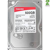 HDD SATA  500GB Toshiba P300 7200rpm 64MB (HDWD105UZSVA)