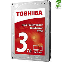 HDD SATA 3.0TB Toshiba P300 7200rpm 64MB (HDWD130UZSVA)