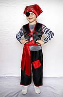 Новогодний карнавальный костюм пират-мальчик