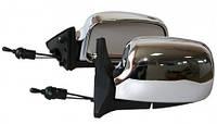 Боковые зеркала для ВАЗ-2107  хром