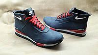 Качественные мужские кожаные ботинки Nike от производителя