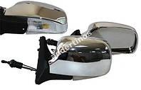 Боковые зеркала для ВАЗ 2107 хром с поворотом