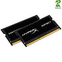 SO-DIMM 2x4GB/1600 1,35V DDR3L Kingston HyperX Impact (HX316LS9IBK2/8)