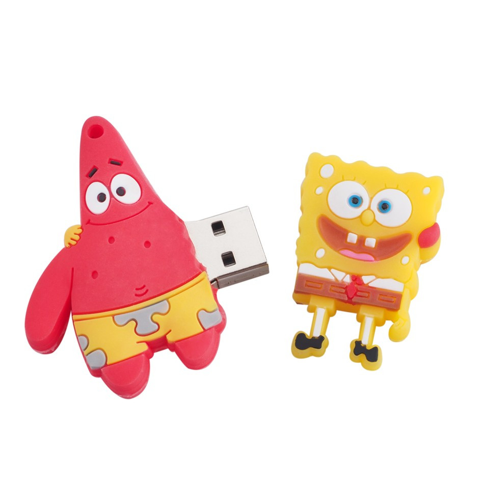 Флешка  Губка Боб и Патрик 8 Гб