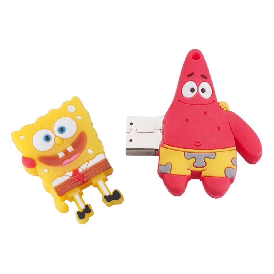 Флешка  Губка Боб и Патрик 16 Гб