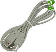 Кабель USB 2.0 AM/BM 5,0 м медь