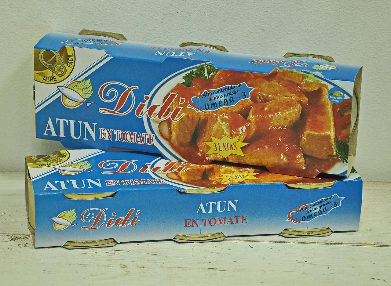 Тунець в томаті Didi - Компанія Джміль в Львове
