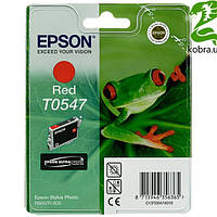 Картридж EPSON (T0547) Stylus Photo R800/1800 (C13T05474010) Red