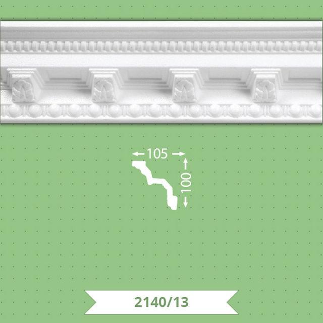 Плинтус потолочный B-2140-13
