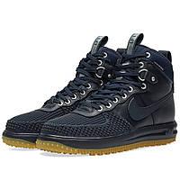 Оригинальные  кроссовки Nike Lunar Force 1 Duckboot Dark Obsidian & Gum