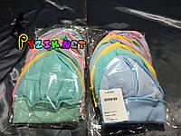 Шапочка-чепчик для новорожденного на резиночке упаковка (10 шт)