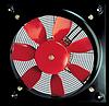 Осевой вентилятор с монтажной пластиной Soler&Palau HCBB/2-355/J- E71 *220V 50*